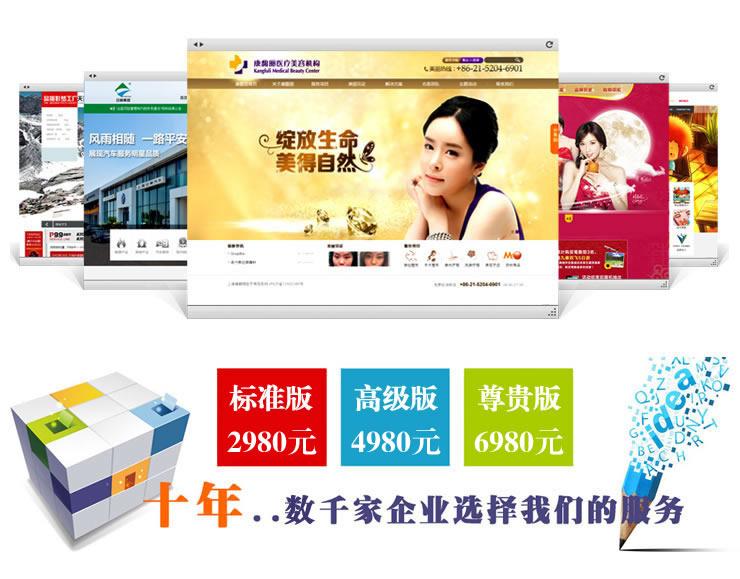 企业展示型网站建设